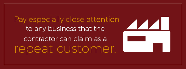 pay attention to repeat customers