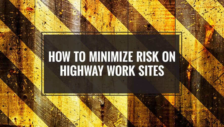 Worker Safety Tips For Highway Road Construction Work Sites